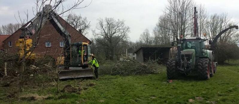 Referenzen - Holzhäckselarbeiten